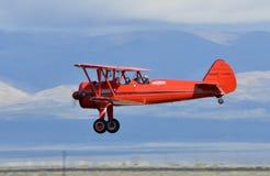 Самолет-биплан Боинга Stearman Стоковая Фотография RF