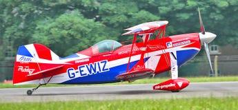 Самолет-биплан мышцы Pitts специальный Стоковые Фото