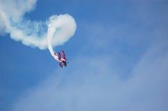 Самолет-биплан Pitts S2S пилотажный Стоковое Изображение RF