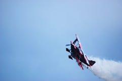 Самолет-биплан Pitts S2S пилотажный Стоковые Фото