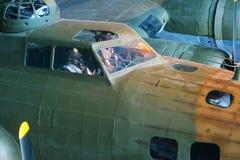 Самолет бомбардировщика B-17e Стоковые Фото