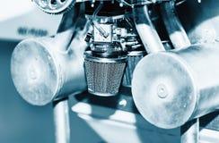 Самолет двигателя малый деталь Стоковое фото RF