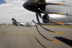 Самолет воздуха от Air New Zealand Стоковое фото RF