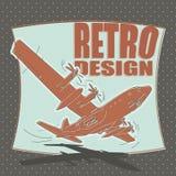 Самолет воздушные судн, авиакомпания, переход, бомбардировщик Стоковое Изображение