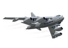 Самолет войск шаржа иллюстрация вектора