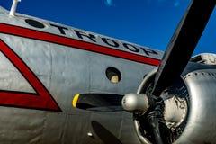Самолет в Берлине Tempelhof Стоковые Изображения