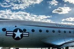 Самолет в Берлине Tempelhof Стоковое Изображение