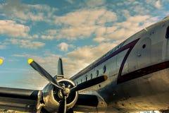 Самолет в Берлине Tempelhof Стоковые Фотографии RF
