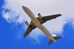 Самолет в воздухе Стоковая Фотография RF