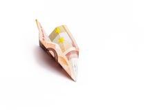 Самолет денег Стоковые Изображения RF