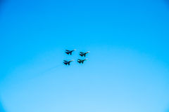 самолет-истребитель Стоковые Фотографии RF