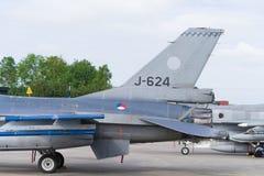 самолет-истребитель 16 f Стоковая Фотография RF