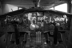 Самолет кабины Стоковые Изображения