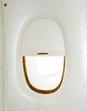 самолет, котор будут имеет извлекли изображением, котор окно взгляда Стоковое фото RF