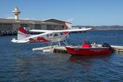Самолет моря один двигателя Стоковые Изображения