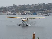 Самолет моря Сиэтл Стоковое Изображение