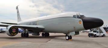 Самолет наблюдения военновоздушной силы RC-135 Стоковая Фотография