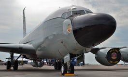 Самолет наблюдения военновоздушной силы RC-135 Стоковые Фотографии RF