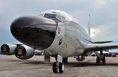 Самолет наблюдения военновоздушной силы TC-135 Стоковые Изображения RF
