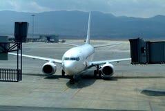 Самолет на авиапорте Стоковое фото RF