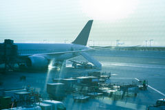 Самолет на стержне Стоковая Фотография RF