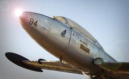 Самолет на m O T H S мемориальный сад Стоковые Изображения