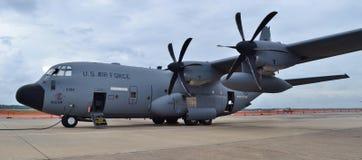 Самолет охотника урагана C-130J Стоковые Изображения