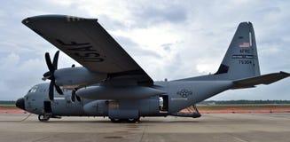 Самолет охотника урагана C-130J Стоковые Фотографии RF