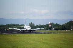 Самолет посадки Стоковая Фотография