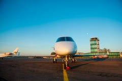самолет приватный Стоковое Фото