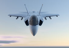 Самолет реактивного истребителя двигателя F-35 иллюстрация штока
