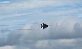 Самолет реактивного истребителя Стоковое фото RF