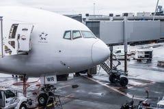 Самолет Сингапоре Аирлинес Боинга Стоковая Фотография