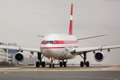 Самолет такси стоковое изображение