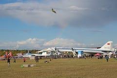 Самолет Туполева Tu-144 Стоковое фото RF