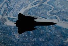 Самолет-шпион от XX века Стоковая Фотография