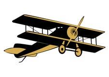 Самолет иллюстрация штока