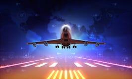 Самолет Стоковое фото RF