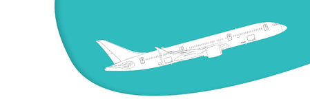 Самолет Стоковые Изображения RF