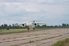 Самолет Antonov An-148 региональный Стоковые Фотографии RF