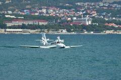 Самолет Beriev Be-103 земноводный Стоковое Изображение RF