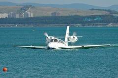 Самолет Beriev Be-103 земноводный Стоковые Фотографии RF