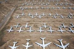 Самолет Boneyard стоковое фото rf