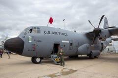 Самолет Lockheed WC-130J Weatherbird Стоковые Изображения RF