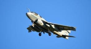 Самолет Prowler Американского флота стоковые изображения