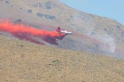 Самолет Retardant Стоковые Изображения RF