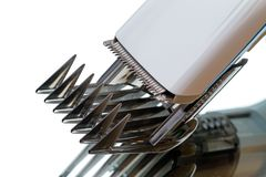 Само-направляя ножи для клиперов волос Стоковые Изображения