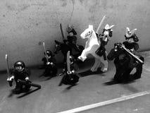 самураи Стоковое Изображение RF