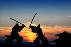 самураи Стоковая Фотография RF