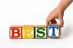 самые лучшие дети s блоков Стоковая Фотография RF